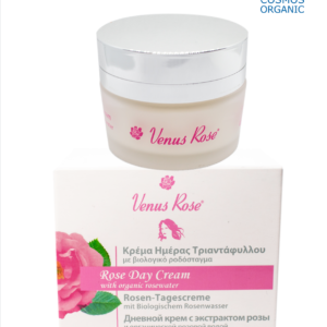 Rose Day Cream with Organic Rosewater 50ml