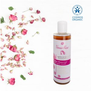 Rose Shower Gel with Organic Rosewater 250ml